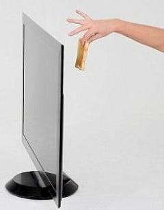 Televizorul mai subtire decat o felie de paine, lansat de Sony