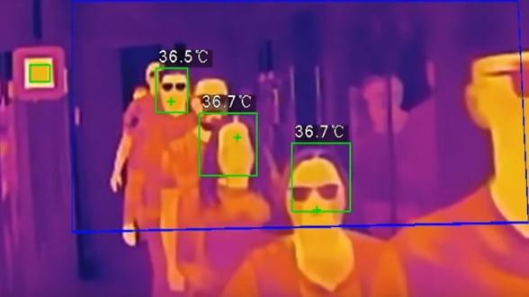 Tendinta: creste cererea de sisteme de supraveghere cu camere pentru masurarea temperaturii corporale. Interes mare din partea institutiilor de sanatate, retailerilor mari si companiilor cu multi angajati