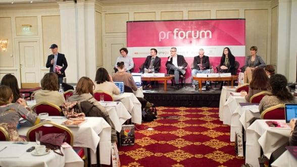 Tendinte, strategii si insight-uri ale industriei de comunicare la PR Forum