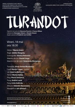 Tenorul Hector Lopez, invitat in spectacolul Turandot de la Opera Nationala Bucuresti