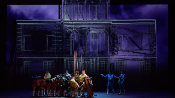 Tenorul Mihai Irimia, invitat pe scena Operei Nationale Bucuresti in spectacolul Barbierul din Sevilla