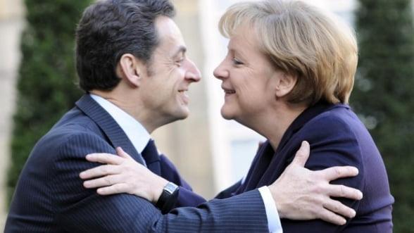 Tensiuni intre Germania si Franta: Merkel, deranjata de Sarkozy