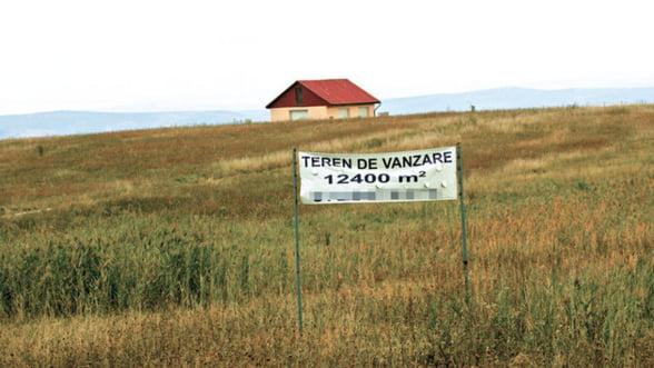 Terenurile de langa Bucuresti s-au ieftinit cu pana la 40%