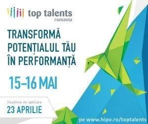 Termenul de aplicare pentru Top Talents s-a prelungit