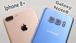Testul care iti arata cat de performant e cel mai tare Samsung fata de iPhone 8