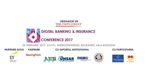 The Diplomat-Bucharest organizeaza prima editie a Digital Banking & Insurance Conference, eveniment dedicat industriei bancare si industriei de asigurari din Romania