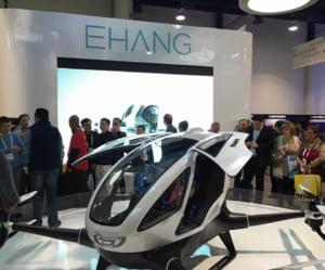 Ti-ar placea sa mergi la job cu un mini-elicopter? Prima drona din lume in care poti sa calatoresti (Video)