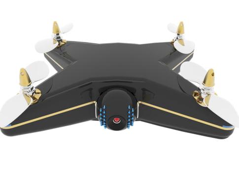 Ti-ar trebui un caine de paza? Mai bine ia-ti o drona de supraveghere!