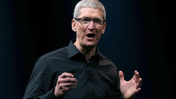 Tim Cook: Pentru Apple, banii sunt doar un rezultat secundar al succesului
