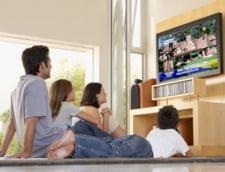 Timpul mediu in fata televizorului a ajuns la 3 ore si 12 minute pe zi