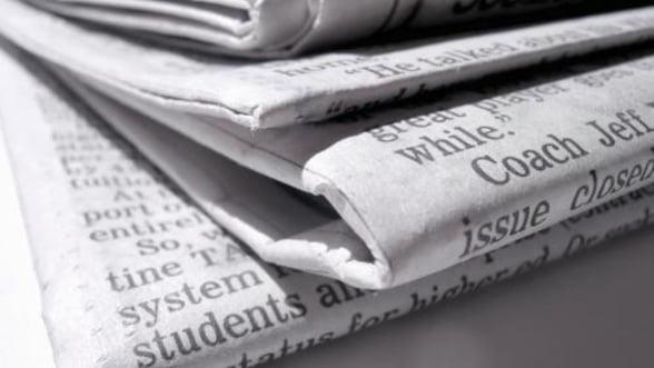 Tirajul editiei de weekend a tabloidului The Sun a scazut cu 30% in patru luni