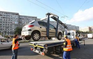 Toate masinile parcate neregulamentar in Sectorul 4 sunt ridicate. Recuperarea autoturismului poate ajunge la sume exorbitante VIDEO