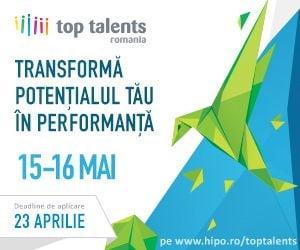 Top Talents Romania, eveniment de cariera dedicat tinerilor cu potential din Romania