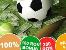 Top bonusuri de bun venit la agentiile de pariuri online licentiate in Romania
