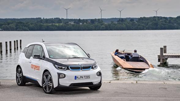 Torqeedo Deep Blue, o salupa electrica extrem de versatila cu baterie BMW