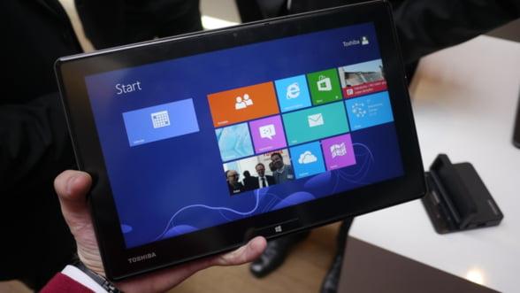 Toshiba lanseaza WT310, o noua tableta cu Windows 8 Pro