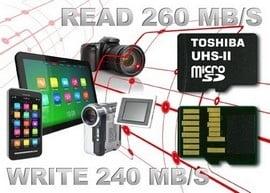 Toshiba lanseaza un card miscroSD cu viteze ametitoare de transfer al datelor