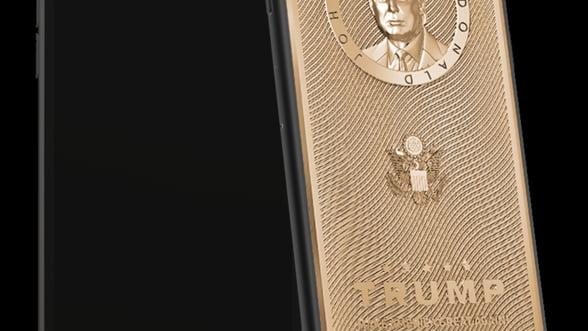 Totul pentru presedinte: Cat ai da pe un iPhone din aur cu chipul lui Donald Trump?