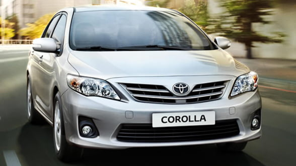 Toyota contrazice Ford. Corolla ar fi fost cea mai bine vanduta masina in 2012