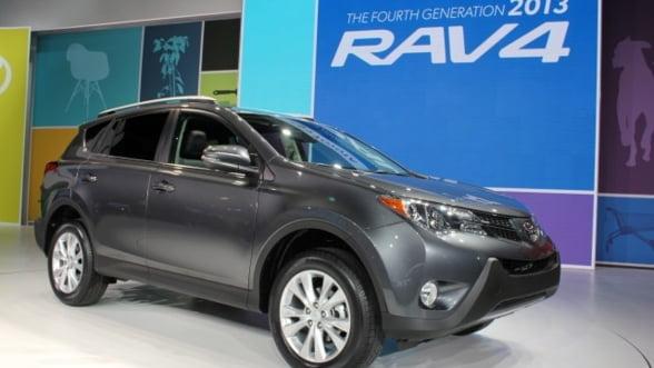 Toyota lanseaza joi a patra generatie a SUV-ului RAV4 in Romania