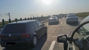 Trafic infernal pe Autostrada Soarelui inspre litoral: Se merge cu 70 km/ora. Iata ce rute alternative aveti