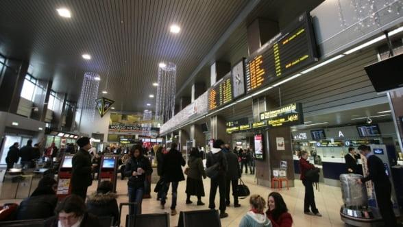 Traficul de pasageri pe aeroporturile capitalei a crescut la nivel record