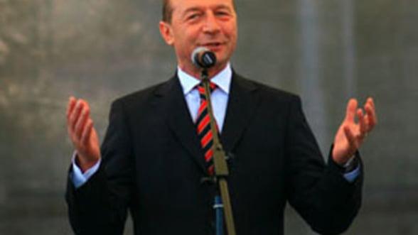 Traian Basescu: Activitatea institutiilor publice confirma ca Romania este un stat de drept