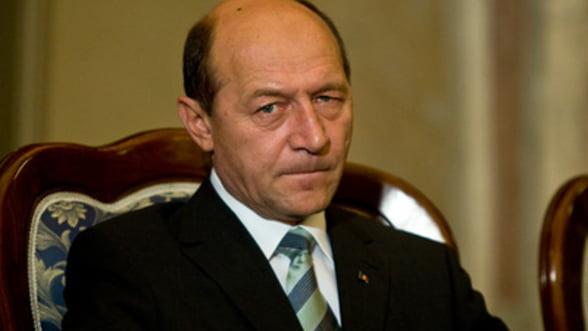 Traian Basescu: Realizarea uniunii bancare avantajeaza Romania