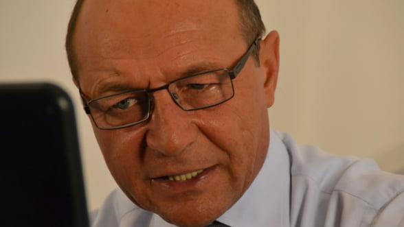 Traian Basescu: Romania nu mai primeste niciun euro, platile au fost sistate