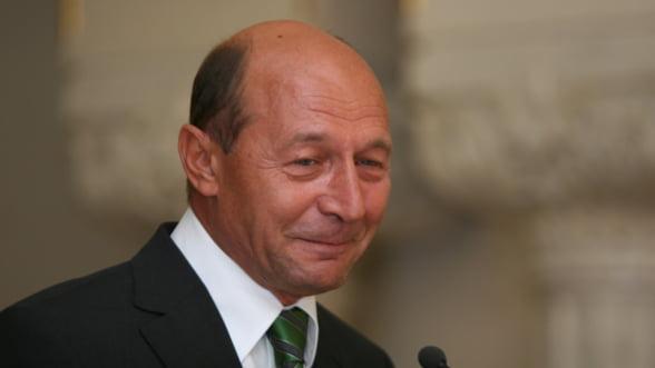 Traian Basescu: Va asigur ca vom avea multe luni cu inflatie extrem de redusa