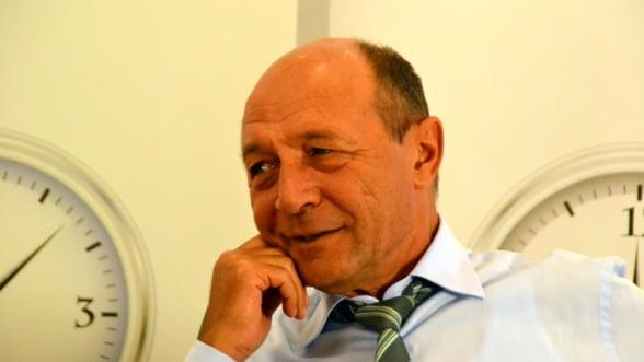 Traian Basescu e sigur 99% ca va reveni la Cotroceni