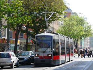 Tramvaiele din Viena, construite de RATB