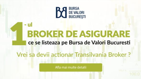 Transilvania Broker de Asigurare s-ar putea lista pe bursa la sfarsitul saptamanii viitoare