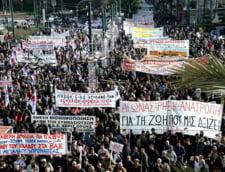 Transporturile si administratia publica, blocate de o noua greva in Grecia