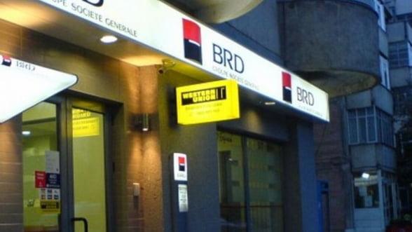Tranzactii record cu actiuni BRD la BVB, dupa ce banca a anuntat revenirea pe profit