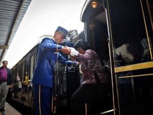 Trenul Orient Express a ajuns in Gara de Nord