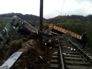 Trenul cazut in rapa a ramas fara frane. Dosar penal pentru ucidere din culpa