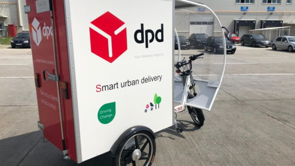 Tricicletele electrice, noul trend in piata de curierat din Romania