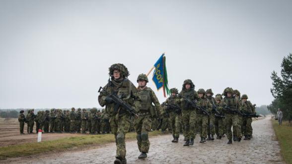Trump agita NATO: Tarile baltice cer ca Europa sa dea mai multi bani pentru Aparare
