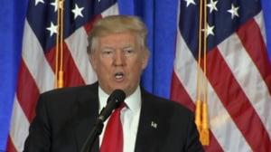 Trump face declaratii bizare: Aveti grija la camerele video ascunse prin hoteluri, sa nu apareti seara la TV