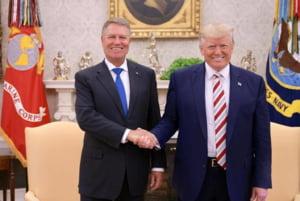 Trump il lauda pe Iohannis la Casa Alba: Este foarte respectat, a facut o treaba foarte buna in Romania
