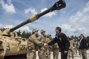 Trump s-ar fi aratat socat de numarul mare de soldati stationati in Germania. Trupele SUA ar putea fi retrase