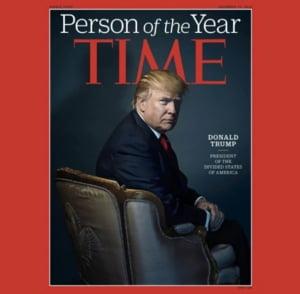 """Trump spune ca a refuzat titlul """"Persoana Anului"""" 2017 oferit de Time. Revista are alta versiune"""