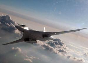 """Tu-160, bombardierul cu care ameninta Rogozin: Cat de periculoasa este """"bijuteria"""" rusilor"""
