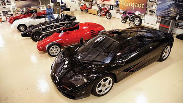 Tu ce masini conduci? Iata fantasticele automobile din garajului lui Jay Leno