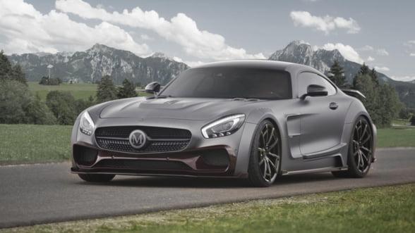 Tuning de lux pentru super-masini: Cum arata un Mercedes AMG GTS iesit din ateliere Mansory