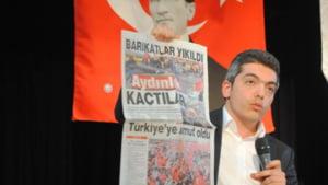 Turcia: Directorul unui ziar, arestat dupa ce a refuzat un drept la replica al ginerelui lui Erdogan