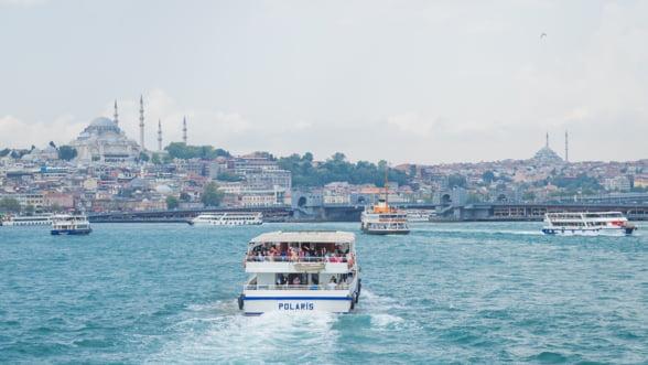 Turcii construiesc un port urias pentru navele de croaziera la Istanbul