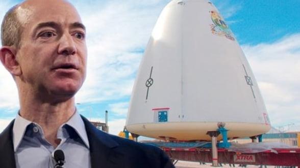 Turismul spatial: Fondatorul Amazon este pregatit sa-si propulseze afacerea in cosmos