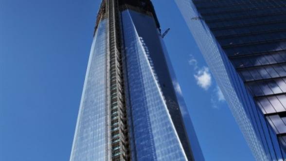 Turnul 1 al World Trade Center, cea mai inalta cladire din New York desi nu e terminata